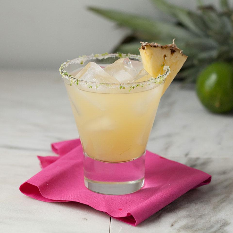 Skinny Pineapple Margaritas Devon O'Brien