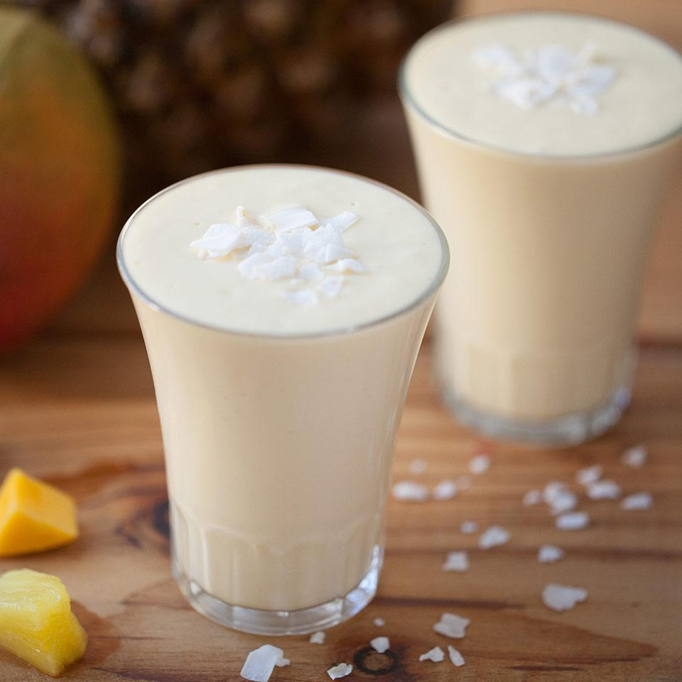 Mango Piña Colada Smoothie EatingWell Test Kitchen
