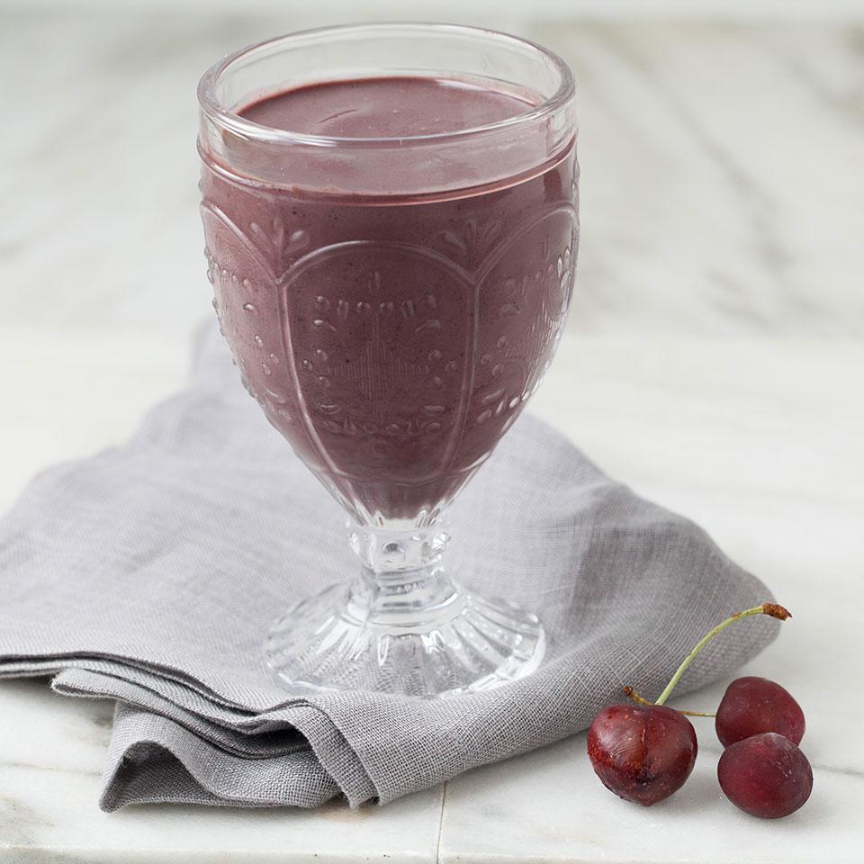 Acai-Cherry Smoothie EatingWell Test Kitchen
