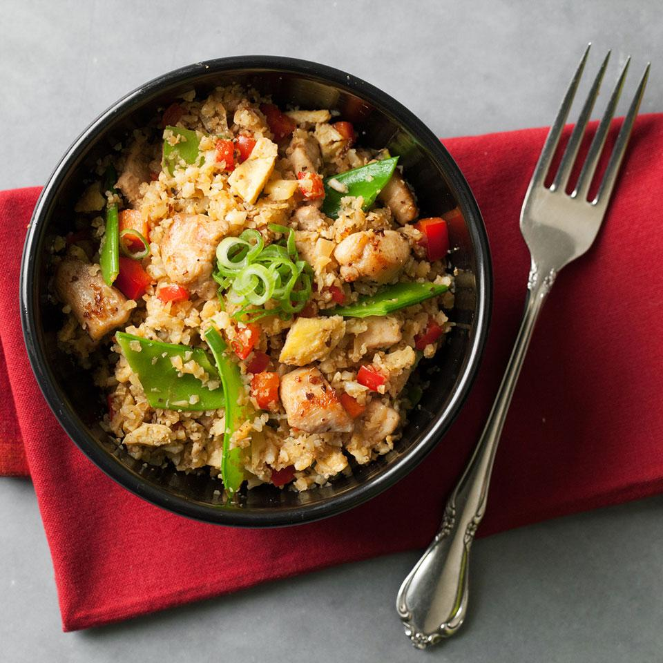 Cauliflower Chicken Fried  Rice EatingWell Test Kitchen