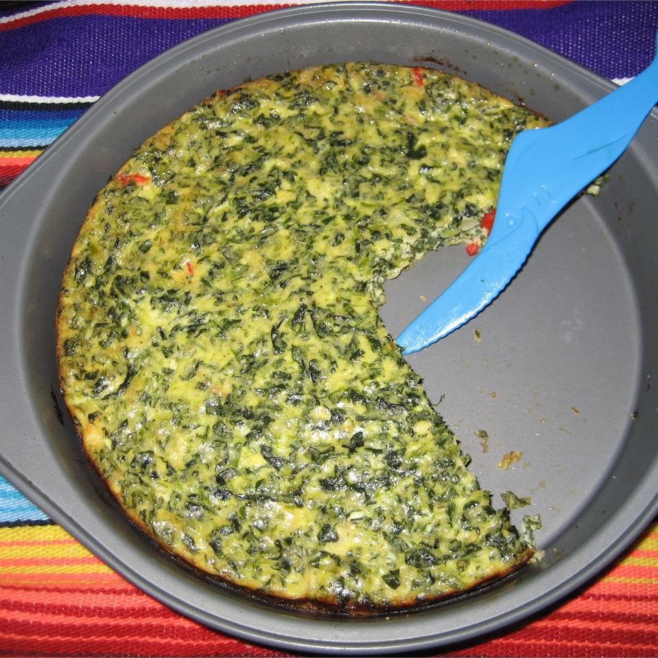 Spinach and Mushroom Frittata K. Wallace
