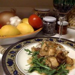 Apricot Chicken with Balsamic Vinegar