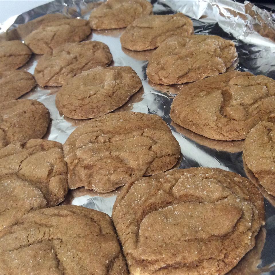 Rolled Molasses Sugar Cookies