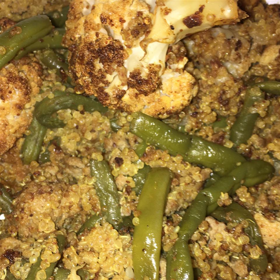 Curried Quinoa Veggie Bowl
