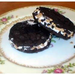Chocolate Wafer Ice Cream Sandwiches IMVINTAGE