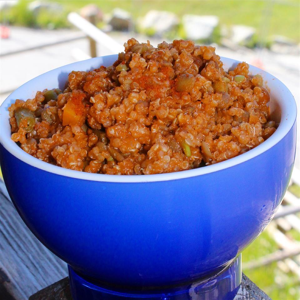 Spicy Lentil Quinoa Curry