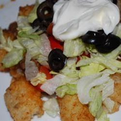 Tater Tot Taco Salad Amy K.