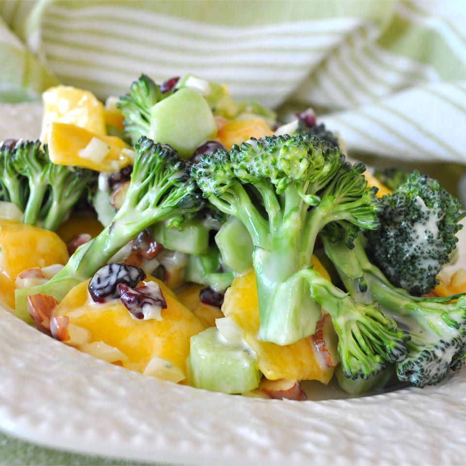 Broccoli Mango Salad Alberta Rose