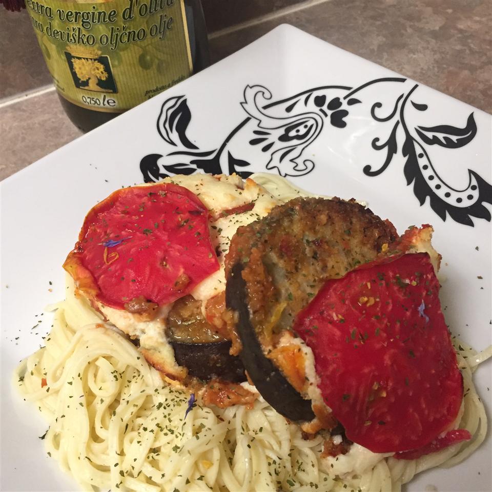 Italian Eggplant Tomato Bake