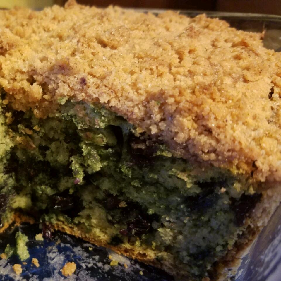Bright Blue Monday Cake