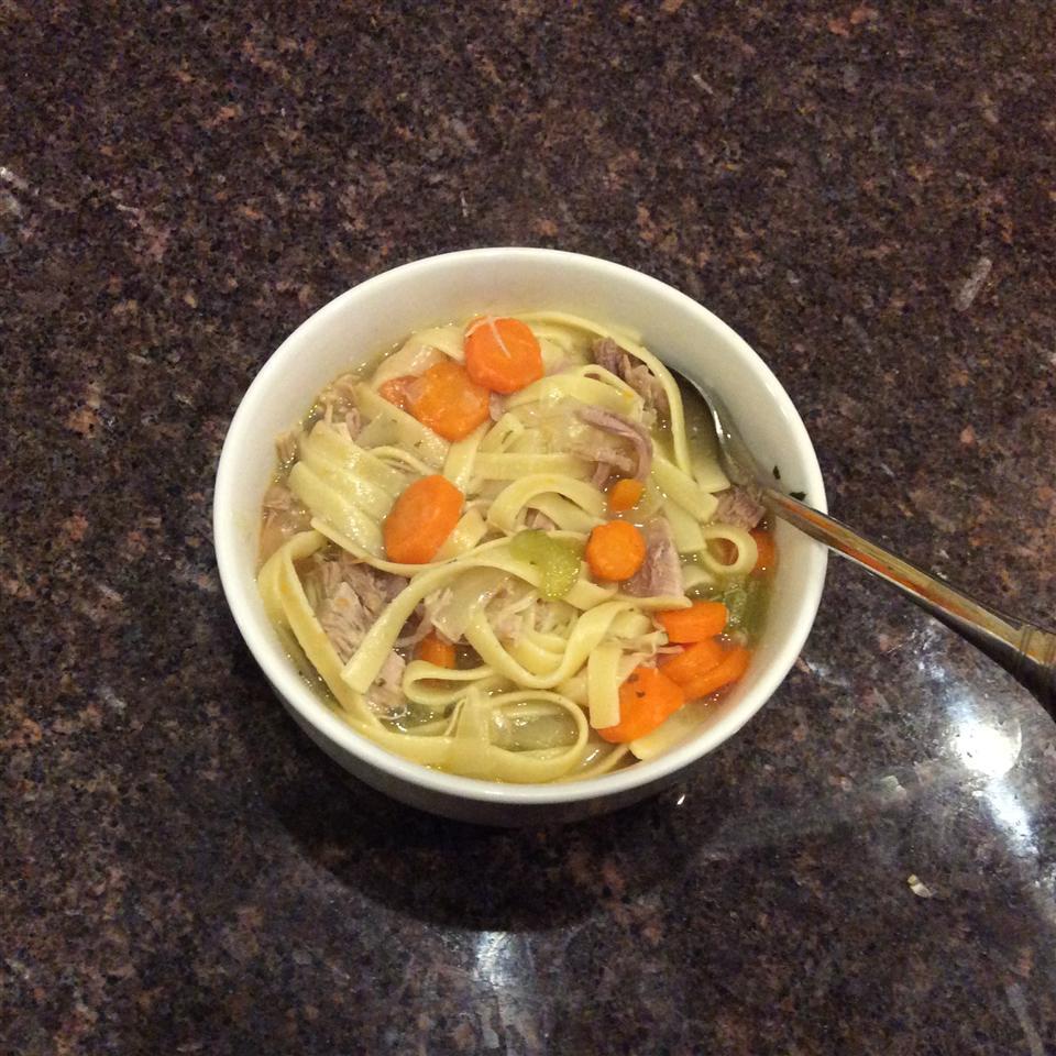 Old Man's Turkey Noodle Soup Tiffany Kennedy-Kelly
