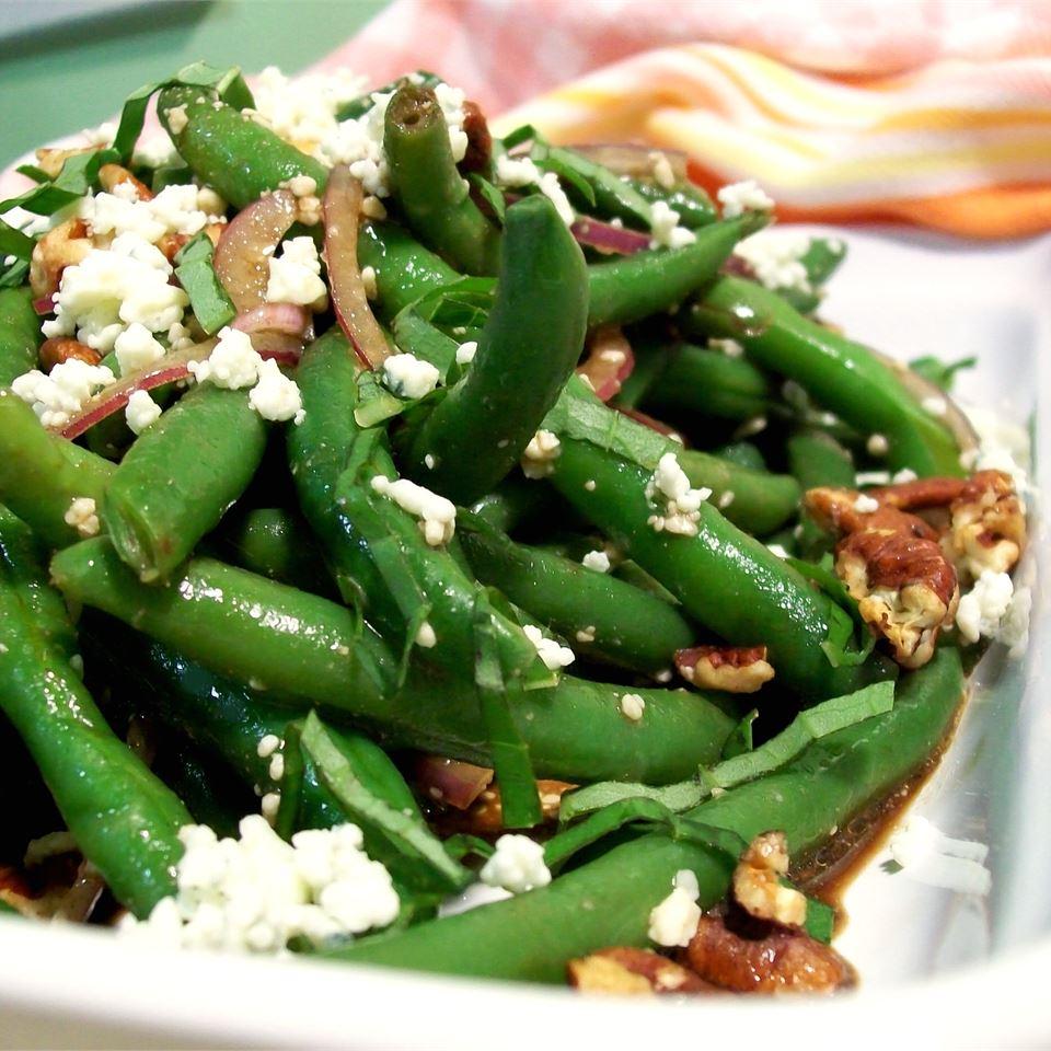 Green Bean Blue Cheese Salad SunnyByrd