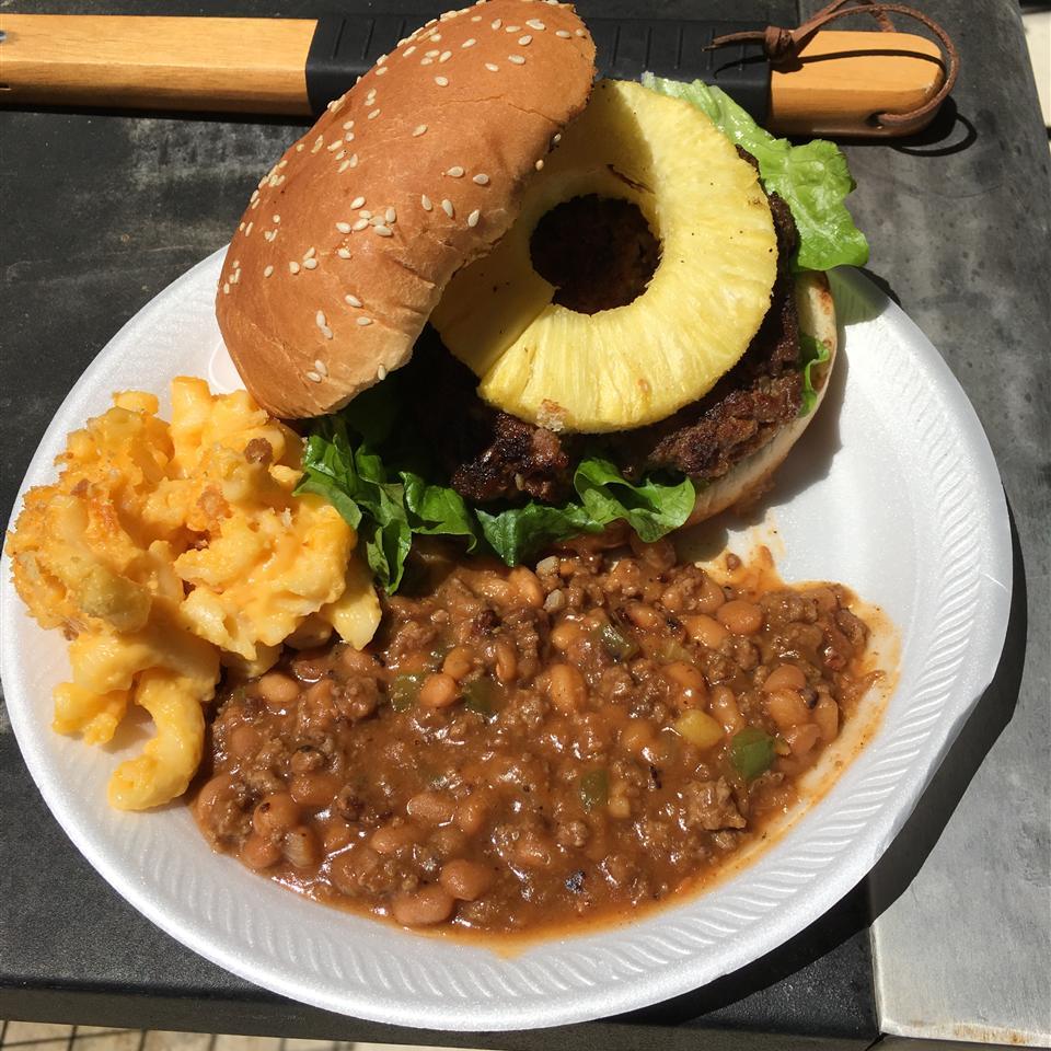 Pineapple Teriyaki Burgers thunderthighcook
