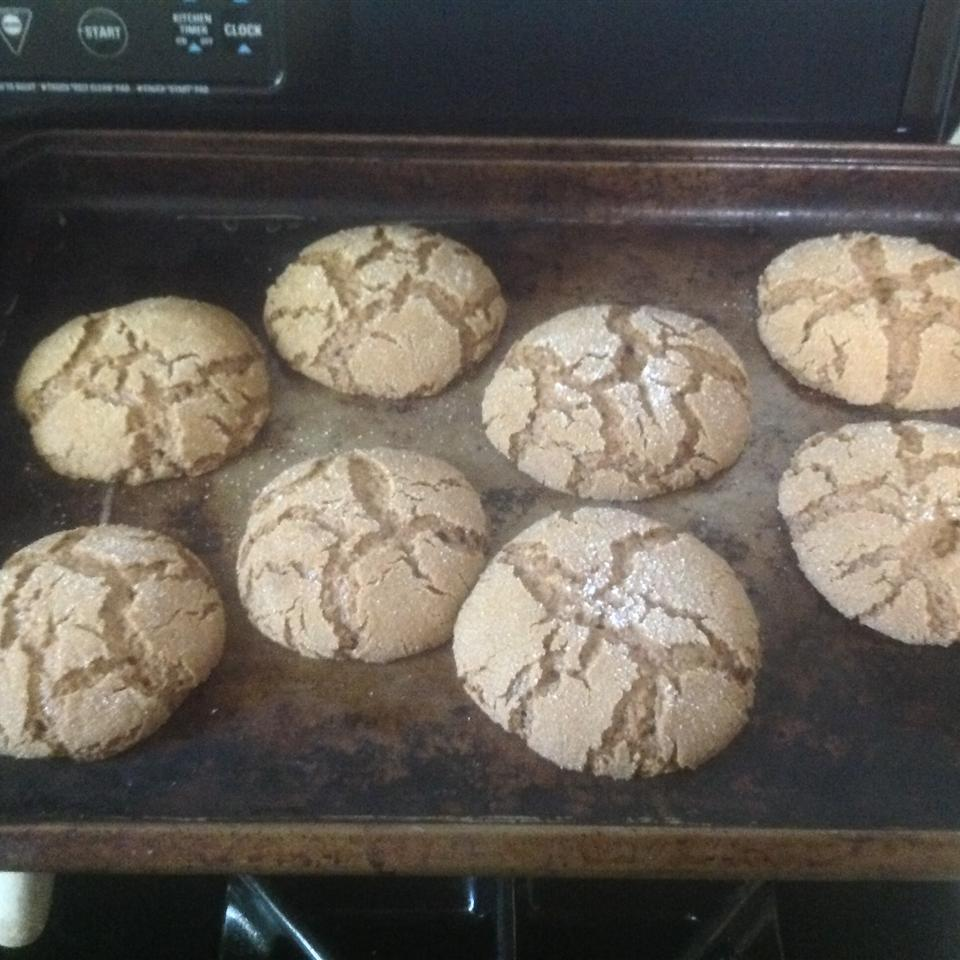 Rolled Molasses Sugar Cookies KerryAnn