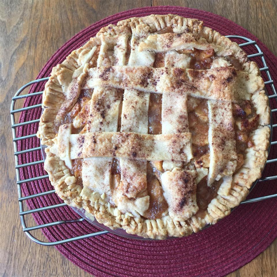Healthier Apple Pie by Grandma Ople evelyn collins