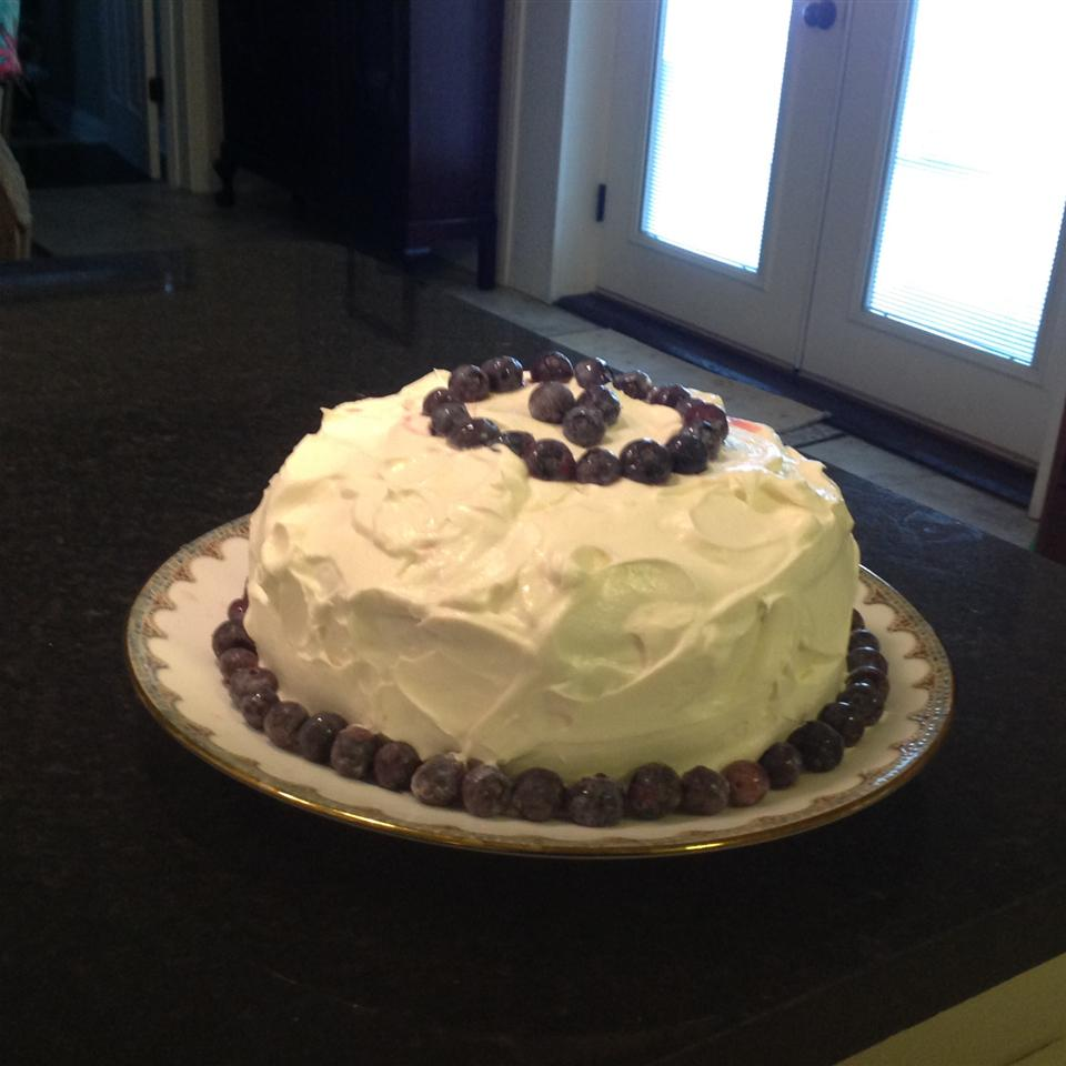 Lemon Blueberry Cake Meagan can't cook