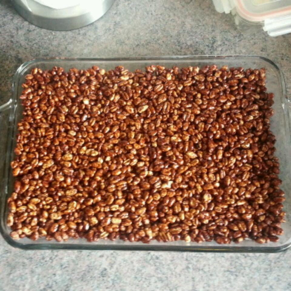 Cafe-Style Puffed Wheat Squares Rob the flyfisherman