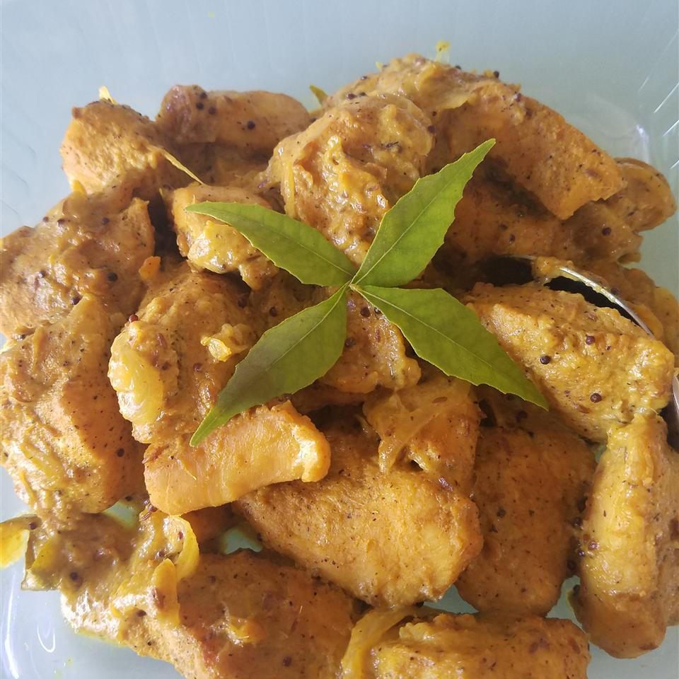 Spicy Dry Fried Curry Chicken