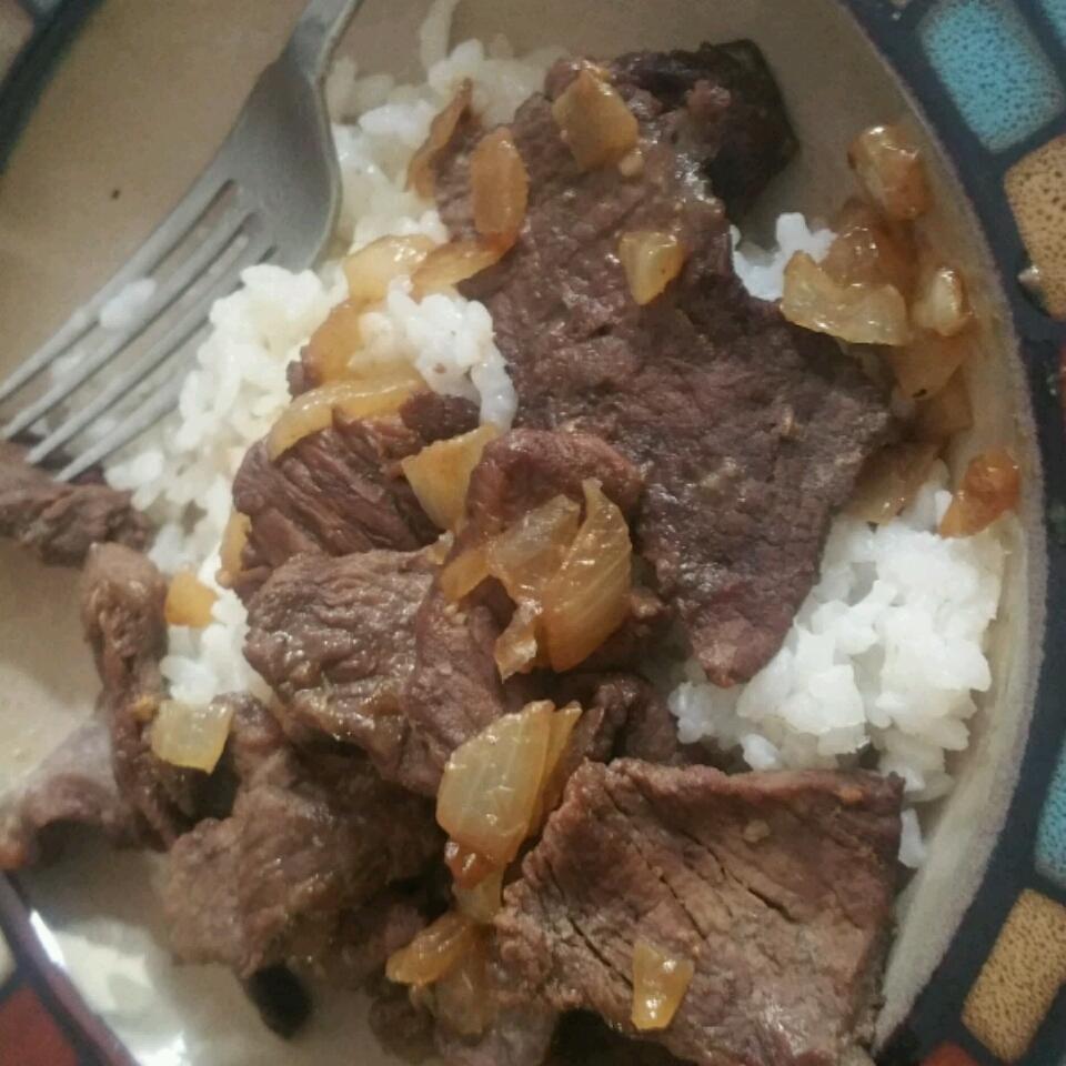 Kicky Steak Strips with Rice HKicsak