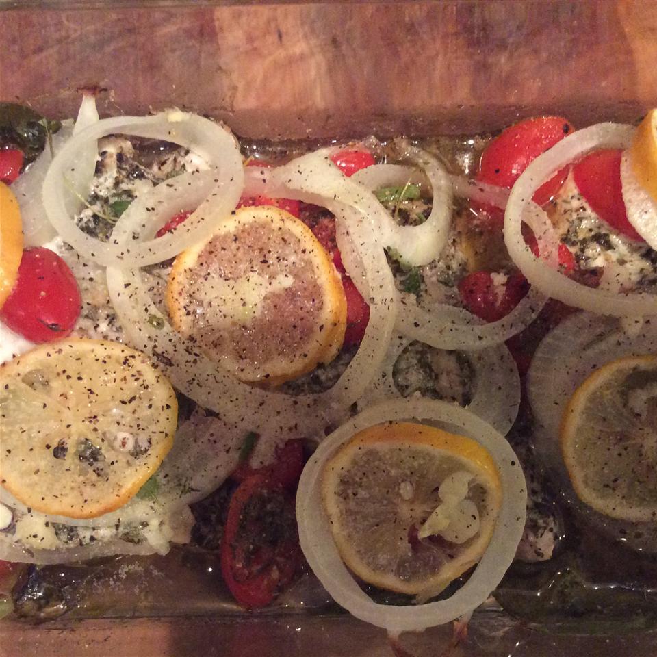 One-Dish Rockfish Deb