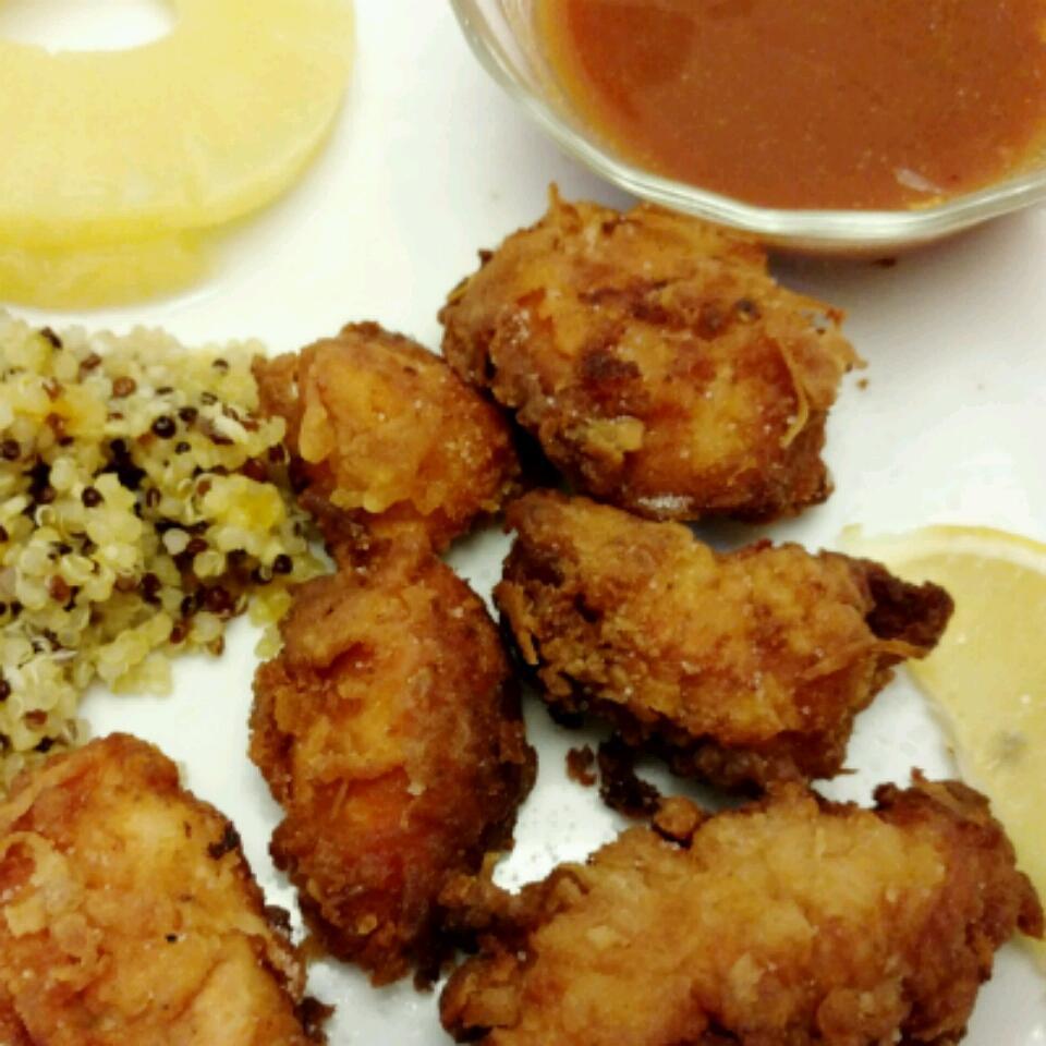 Fried Chicken Chunks (Chicharrones De Pollo) Dominican Diane McElhaney