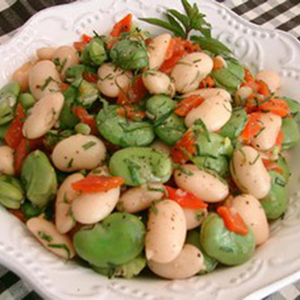 Fava and Butter Bean Salad