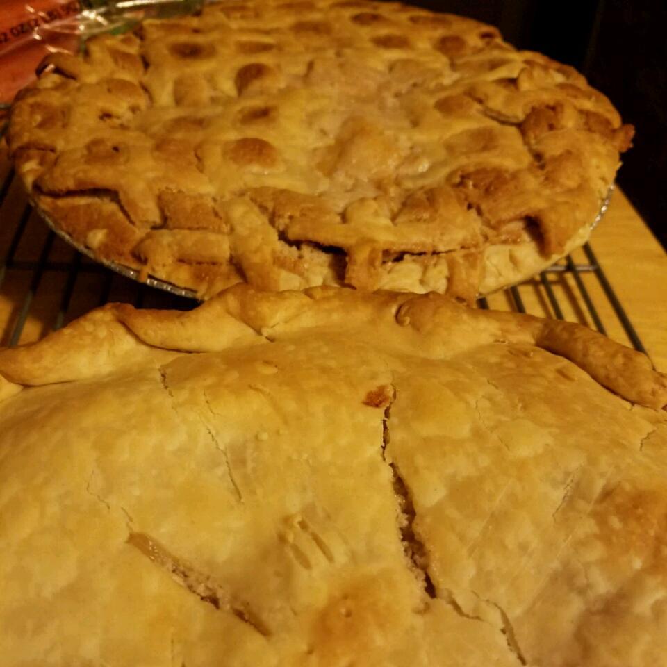 Nectarine Pie Leigh Weidner