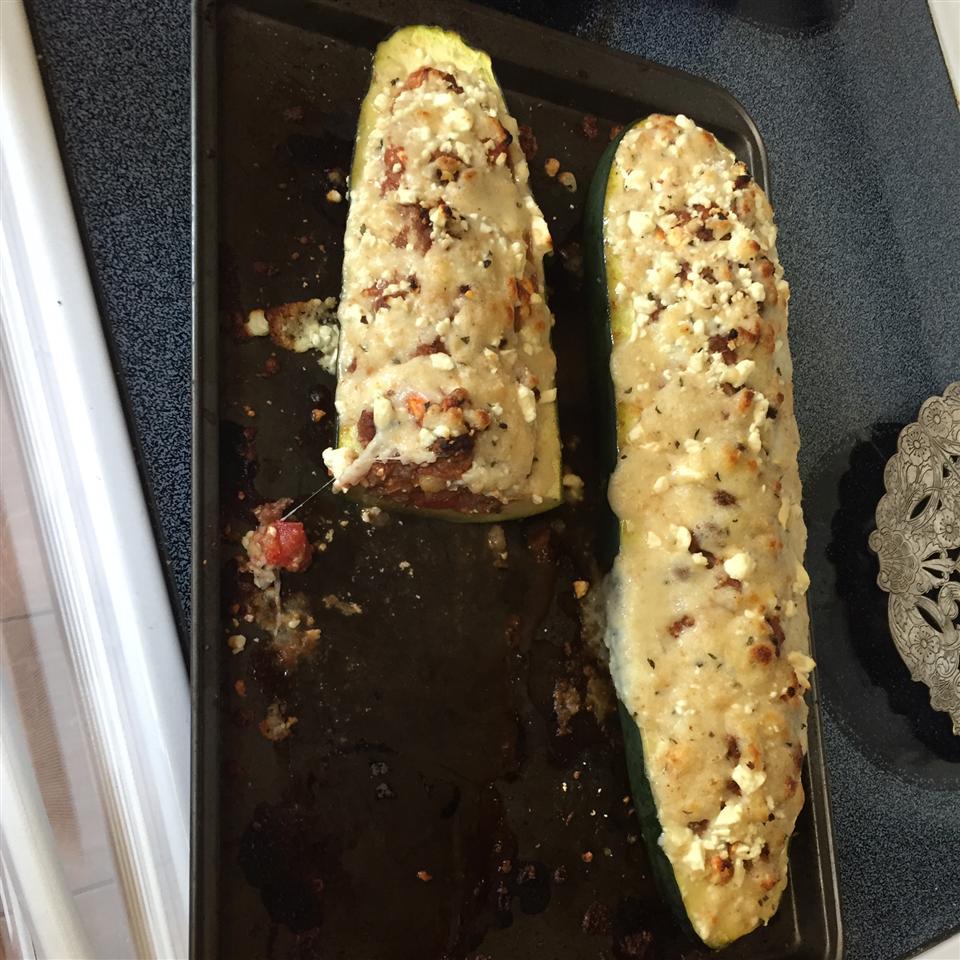 Mediterranean Stuffed Zucchini Murphy