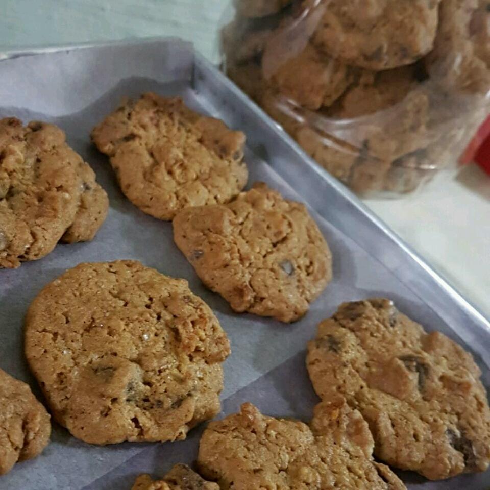 Granola-Chocolate Cookies Jules