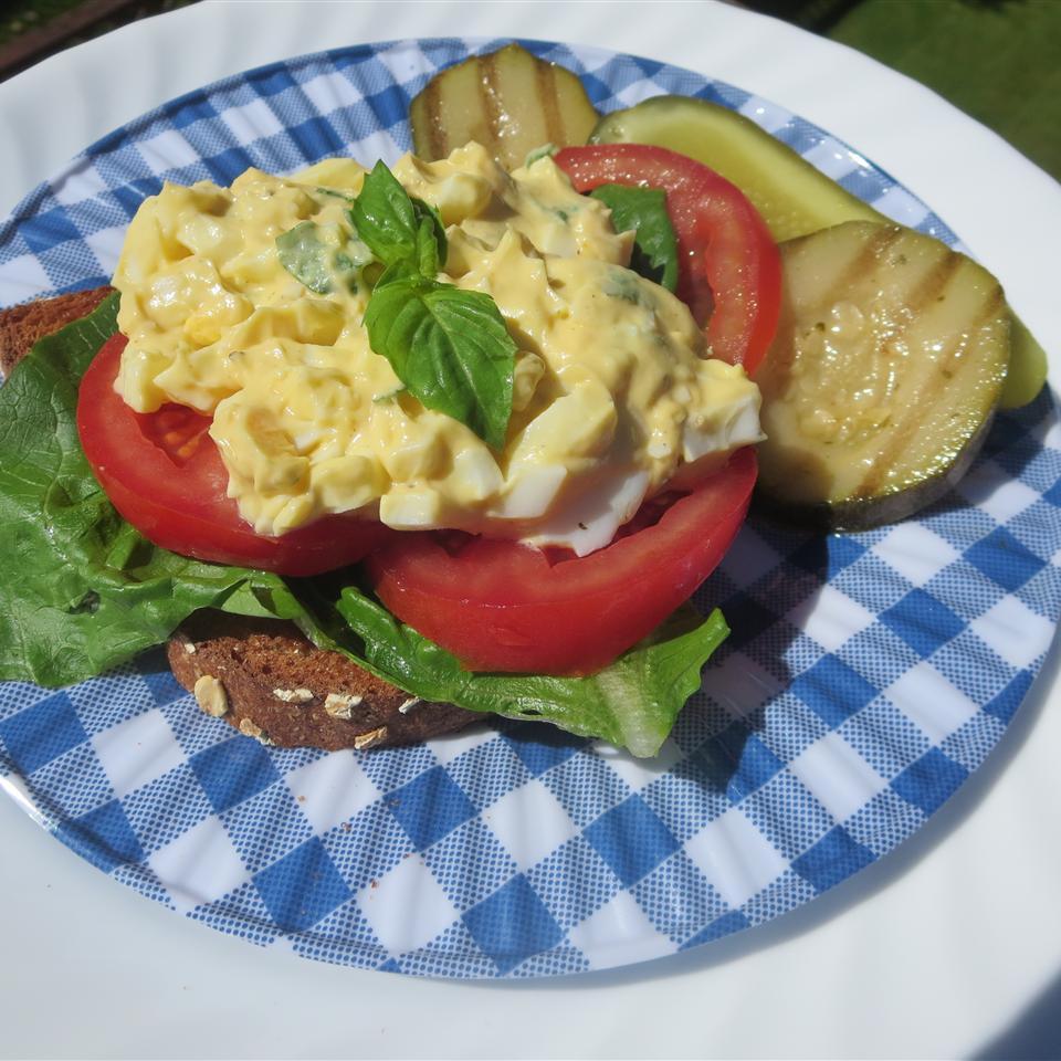 Tomato Basil Egg Salad Sandwich Phoebe