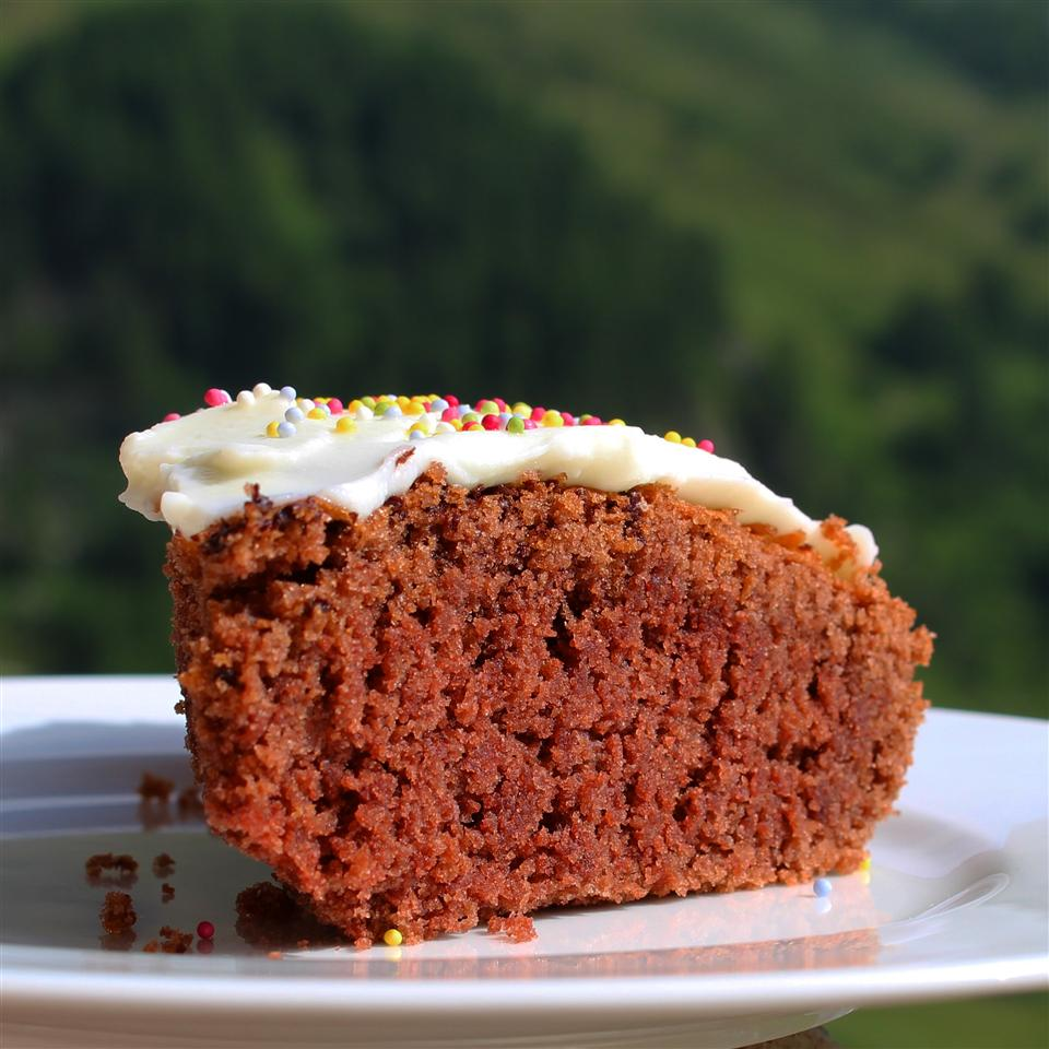 High-Altitude Buttermilk Devil's Food Cake