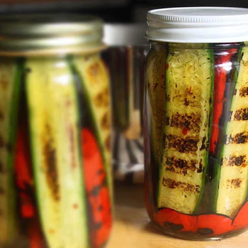 Pickled Grilled Vegetables Chef John