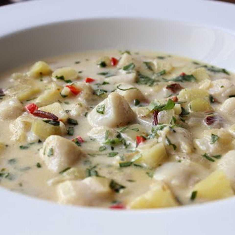 Chef John's Bay Scallop Chowder