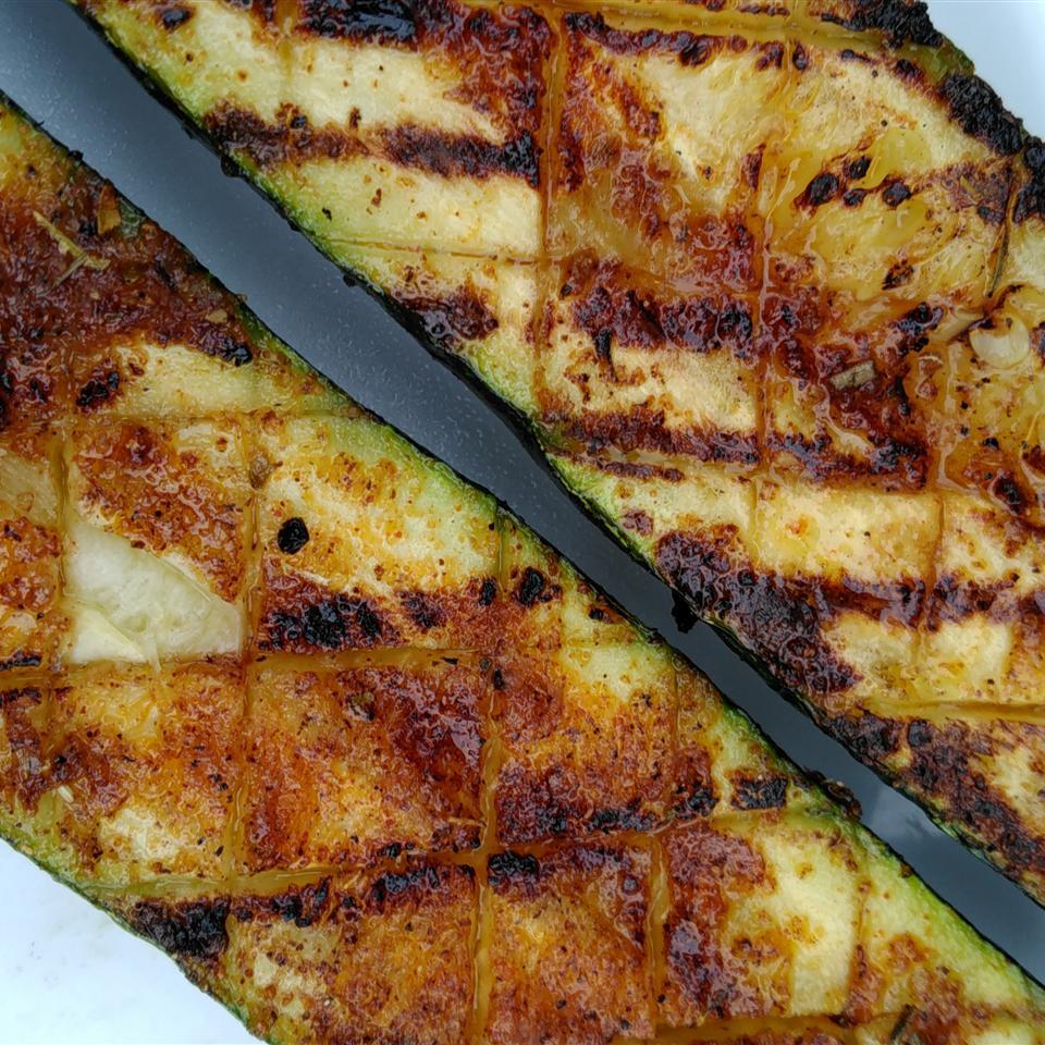 Easy Grilled Zucchini Bren