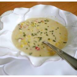 Crawfish and Corn Soup IMVINTAGE