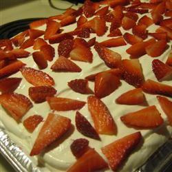 Strawberry Refrigerator Cake Catherine Parton