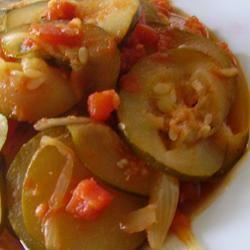 Italian Zucchini Saute Christina