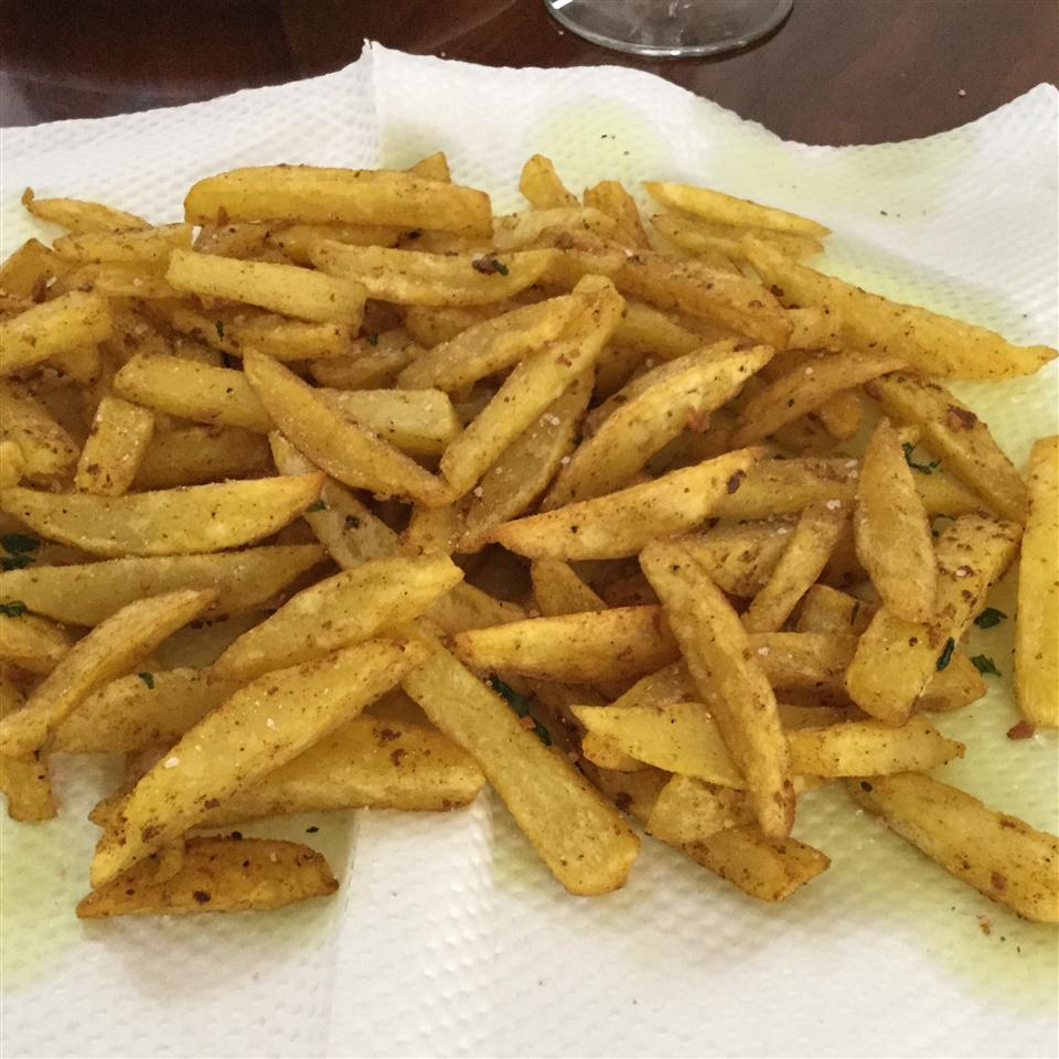Indian Curry Potato Fries