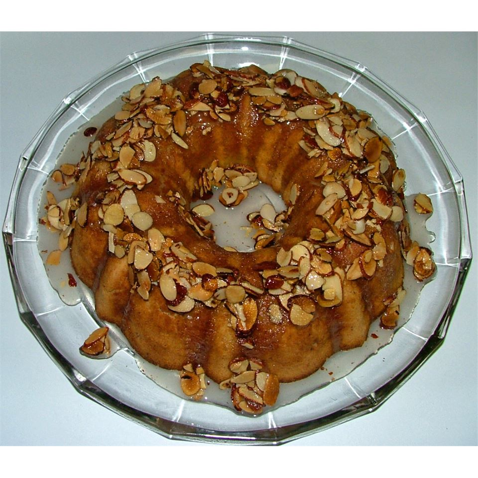 Glazed Almond Bundt Cake