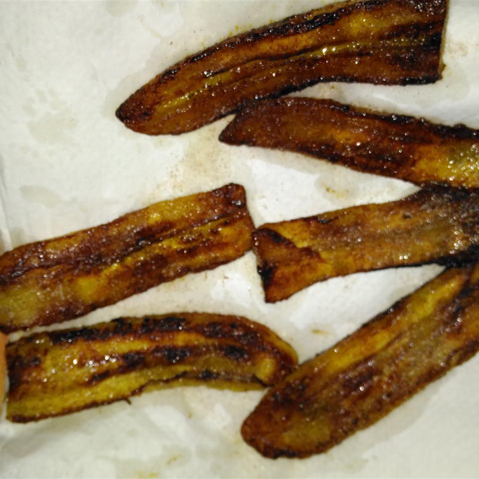 Fried Salvadorian Sweet Plantains Dwayne Bowers
