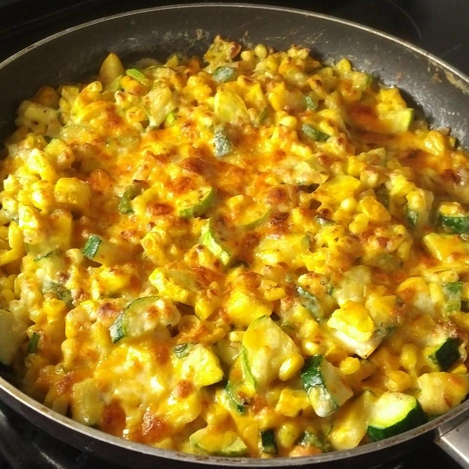 Zucchini and Corn Gratin the4taals