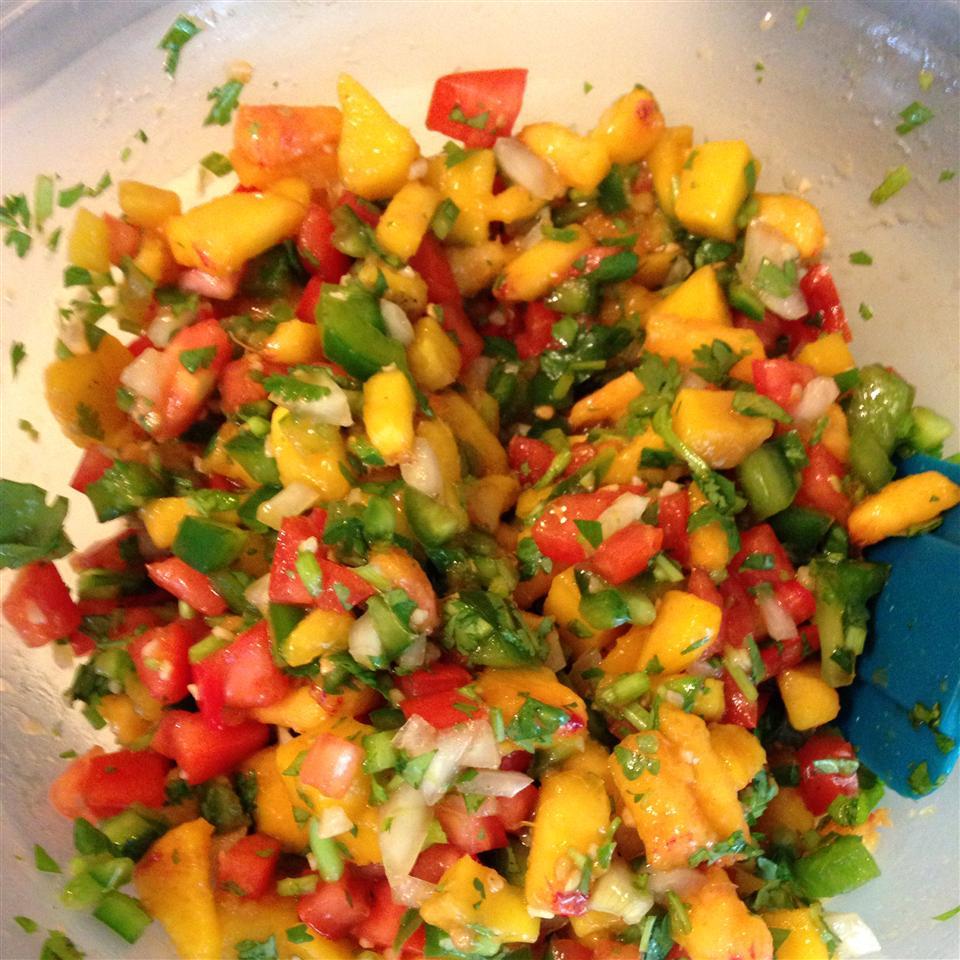 Mango, Peach and Pineapple Salsa Tommy Irwin