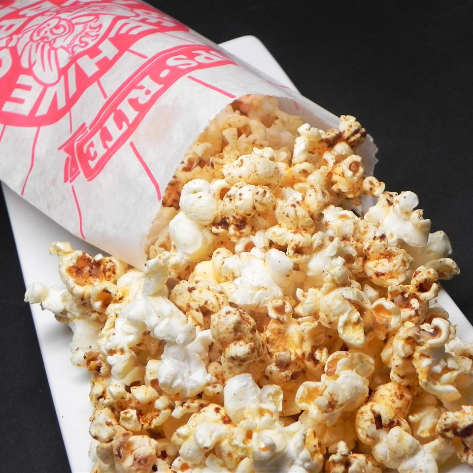 Butter Popcorn With Sumac Nathan King