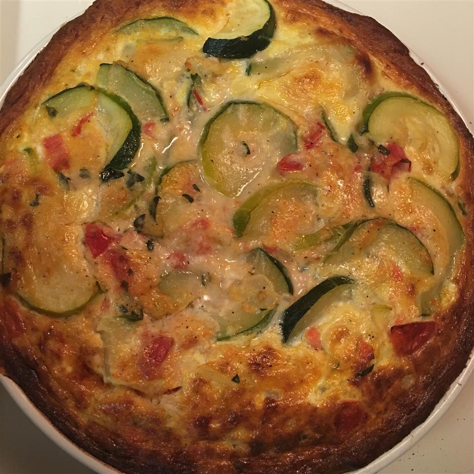 Mom's Zucchini Pie