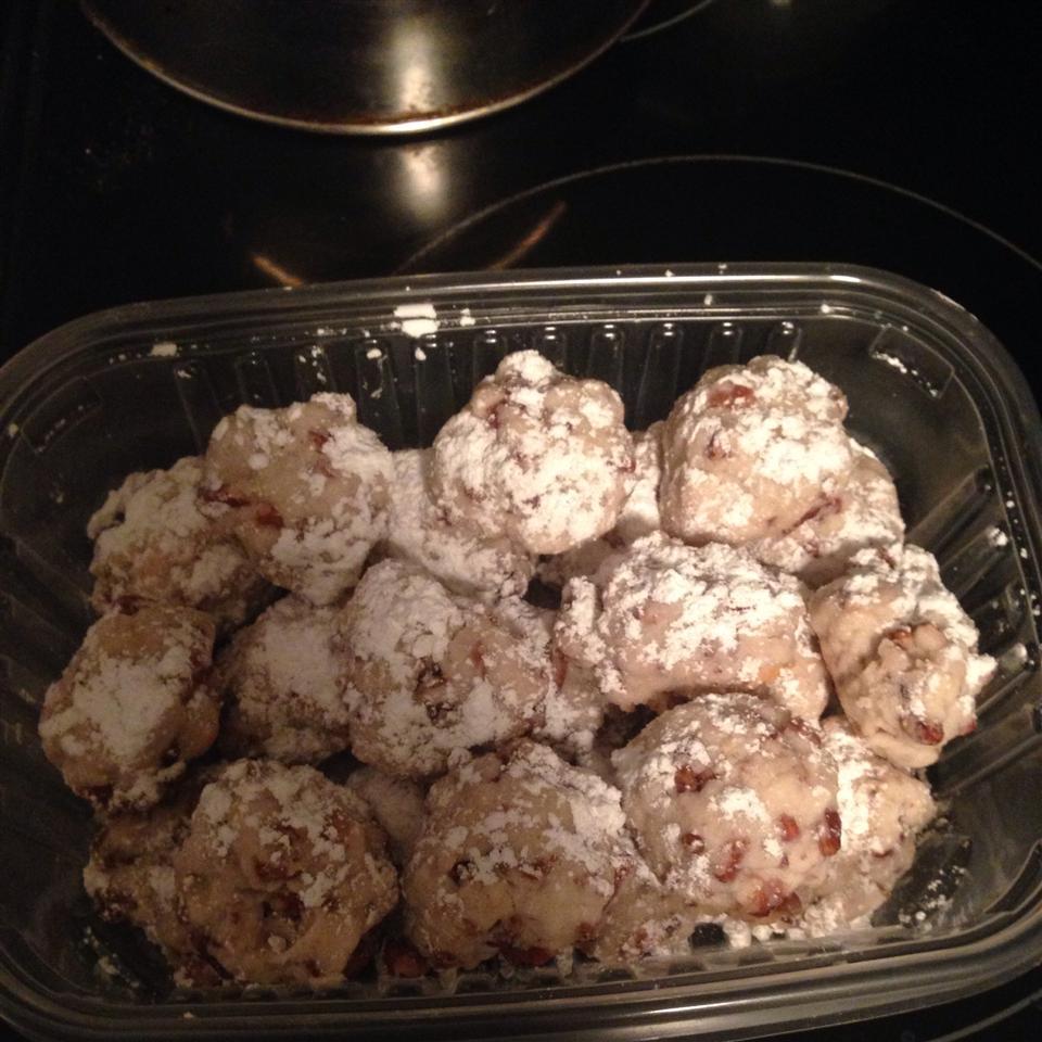 Vegan Mexican Wedding Cookies Diane Morrissey