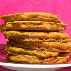 Jack-O-Lantern Pumpkin Pancakes franybanany