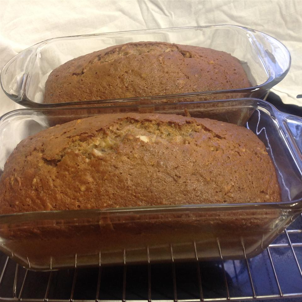 Caribbean Zucchini Bread Brenda Muench