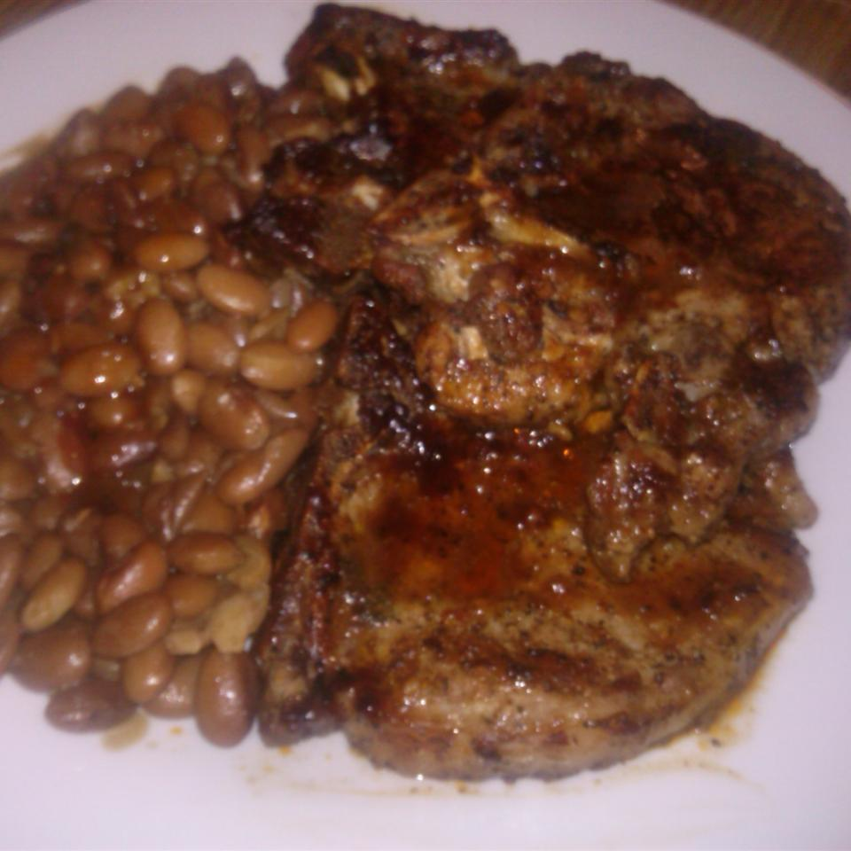 Easy Baked BBQ Pork Chops