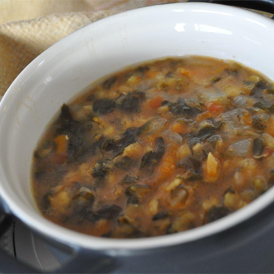 Spinach Lentil Soup Alberta Rose