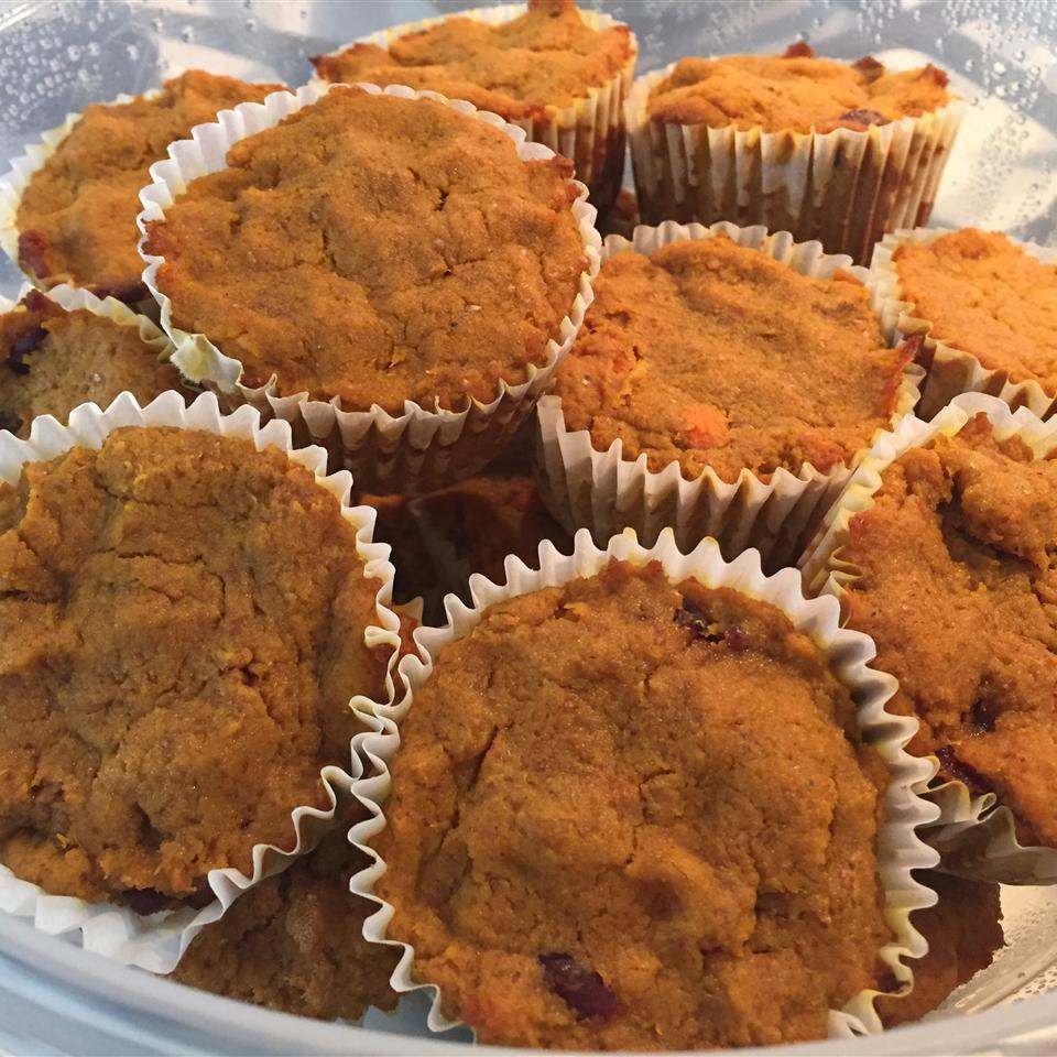 Carrot and Cranberry Muffins newlywed@utsa